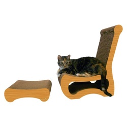 Imperial Cats Easy Chair and Ottoman